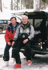 Dale&Michael After Skiing